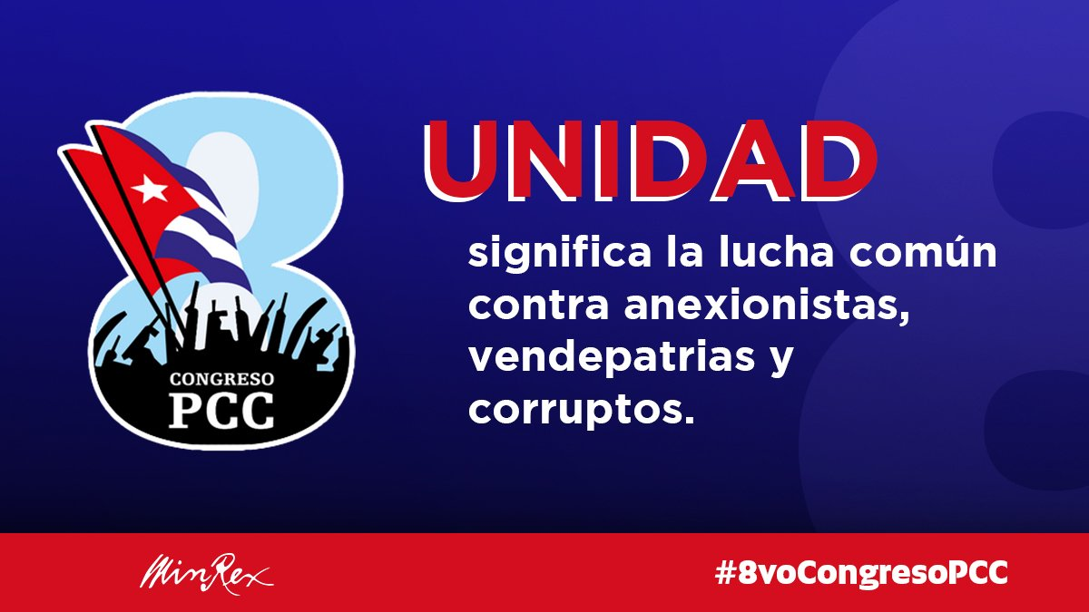 """CUBAONU on Twitter: """"#Cuba #8voCongresoPCC The 8th Congress of the Cuban  Communist Party will take place April 16-19, 2021.… """""""