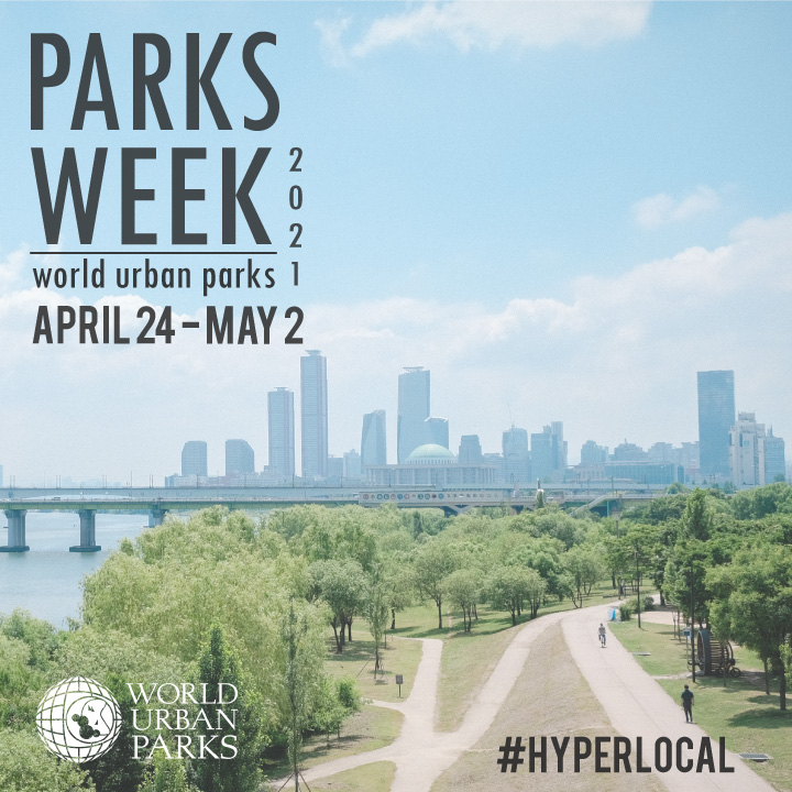 #WorldParksWeek is less than two weeks away!  Get ready to embrace @WUParks' theme of #Hyperlocal by exploring your local neighborhoods and communities!  Be sure to check out and support all the great initiatives happening from April 24 to May 2! https://t.co/J0YVXz3cgK
