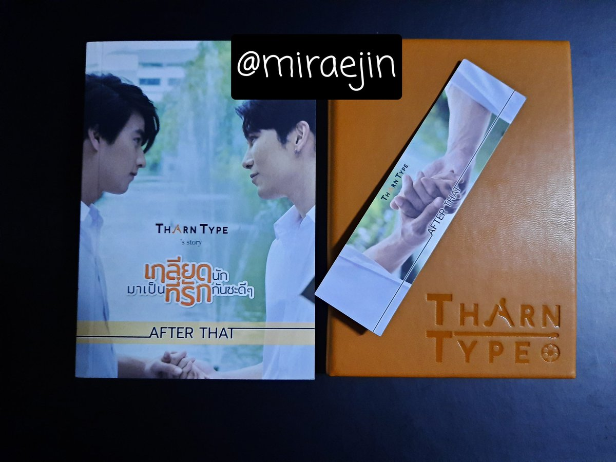 [PLS RT]  PH only  WTS / LFB: TharnType S1 Box Set (tingi) 'After That' novel book + bookmark + notebook ㅡ 1,000php + LSFthe novel contains TharnType's story after s1, in transition to s2DOP: 1 weekMOP: gcash/paymayaFor grab/lalamove/j&t onlyDM for more details