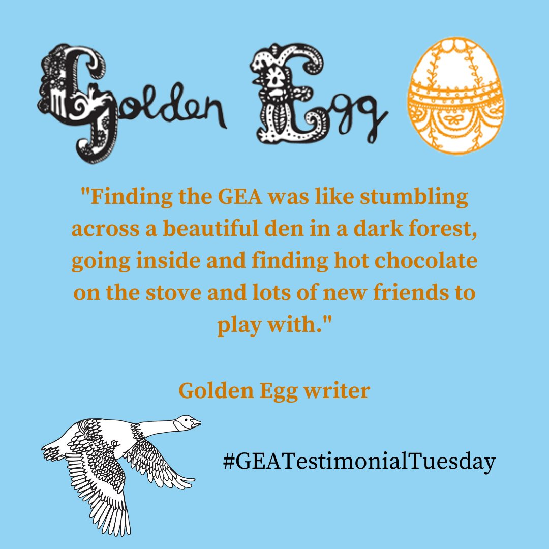 #TestimonialTuesday | Kind words from our experts, friends and colleagues  sharing a little about their GEA experience... #goldeneggacademy #writingforchildren #writerscommunity #GEAtestimonialtuesday