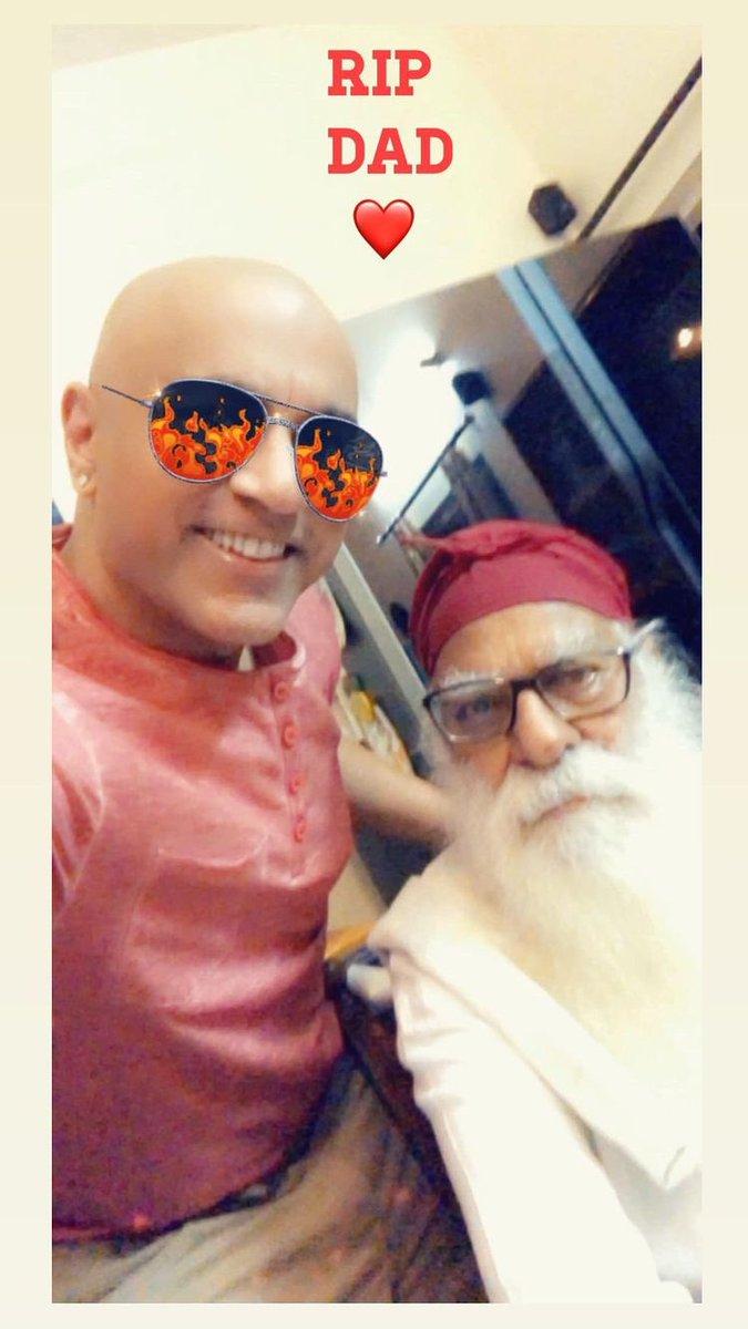 The Father of pop star Baba Sahgal today died of #Corona  virus, the rock star informed. #COVID19 #mumbaicity #Maharashtra #AbhishekBachchan #COVIDSecondWave #RanbirKapoor #AliaBhatt #AdityaNarayan #SatishKaushik