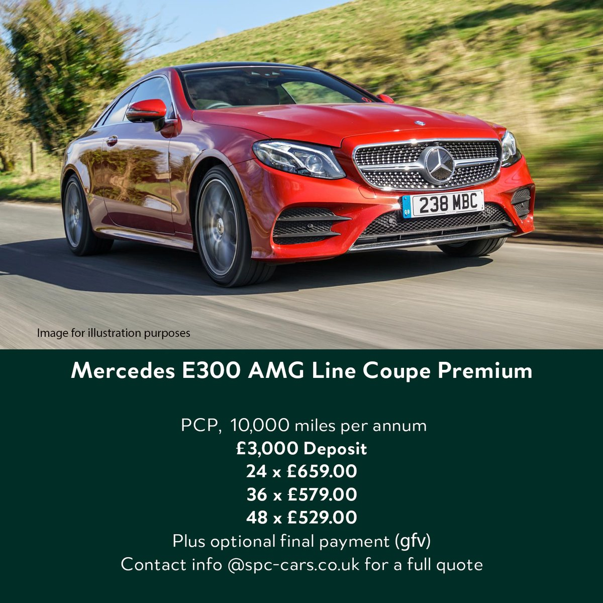 Gotta love a coupe  Contact info@spc-cars.co.uk to discuss and reserve your new car     #mercedes #eclass #amg #coupe #pfa #efl # newcardeals #spccars https://t.co/demac7DAbv