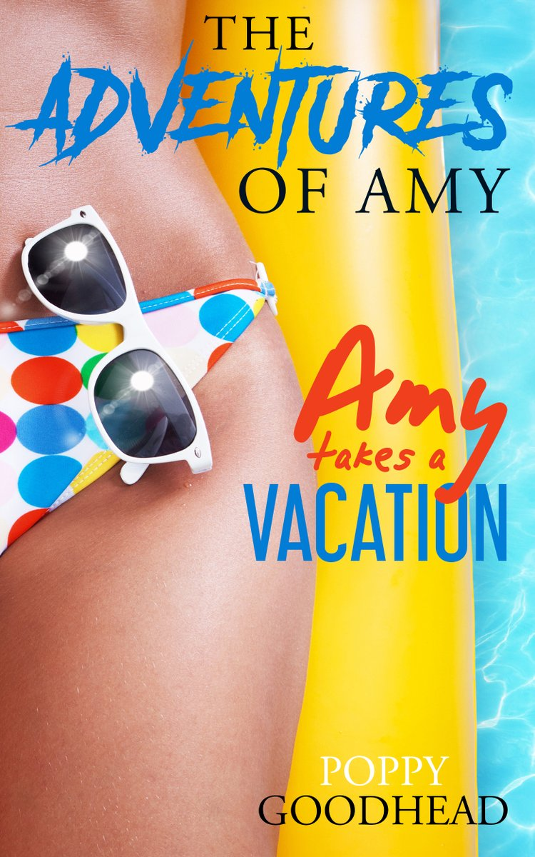 We'd all love a holiday. Amy takes a vacation.    #erotica #kindleunlimited #writingcommunity #indieapril