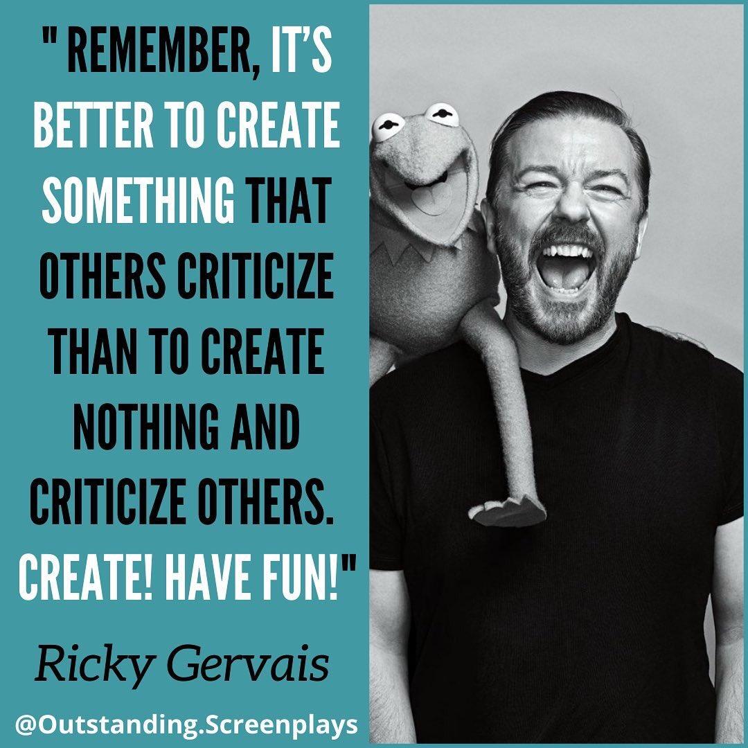 👉  👈 Ricky Gervais writers advice  #screenwriter #scriptwriter #RickyGervais #screenwriting #scriptwriting #screenplay #screenwriters #writingcommunity #writerscommunity #writingtips #scriptwriters  👉more #screenwritingtips👉
