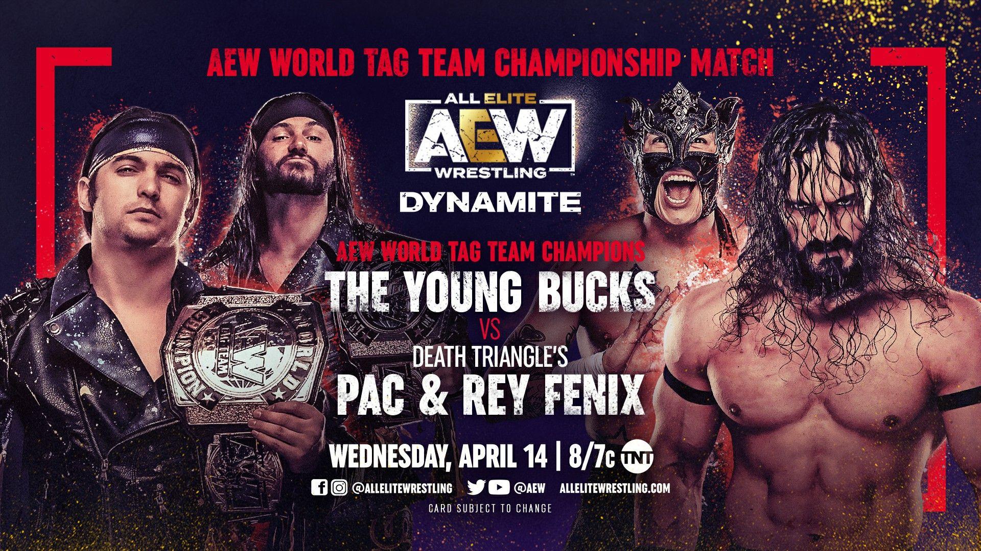 AEW Dynamite IGNITE for 4/14/21