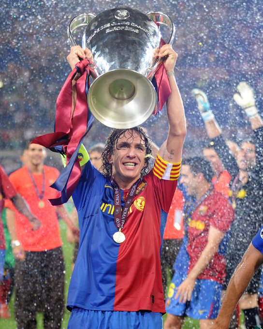 One of the greatest ever defenders.  Happy birthday, Carles Puyol.