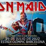 "Image for the Tweet beginning: El concierto de @IronMaiden ""Legacy"
