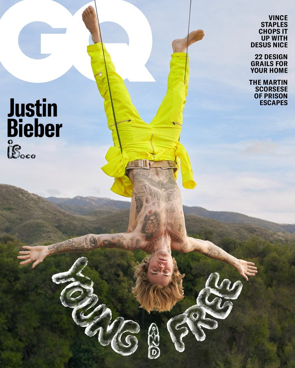 Presenting GQ's May cover star: @justinbieber. Read the cover story and see the photos by Ryan McGinley here: