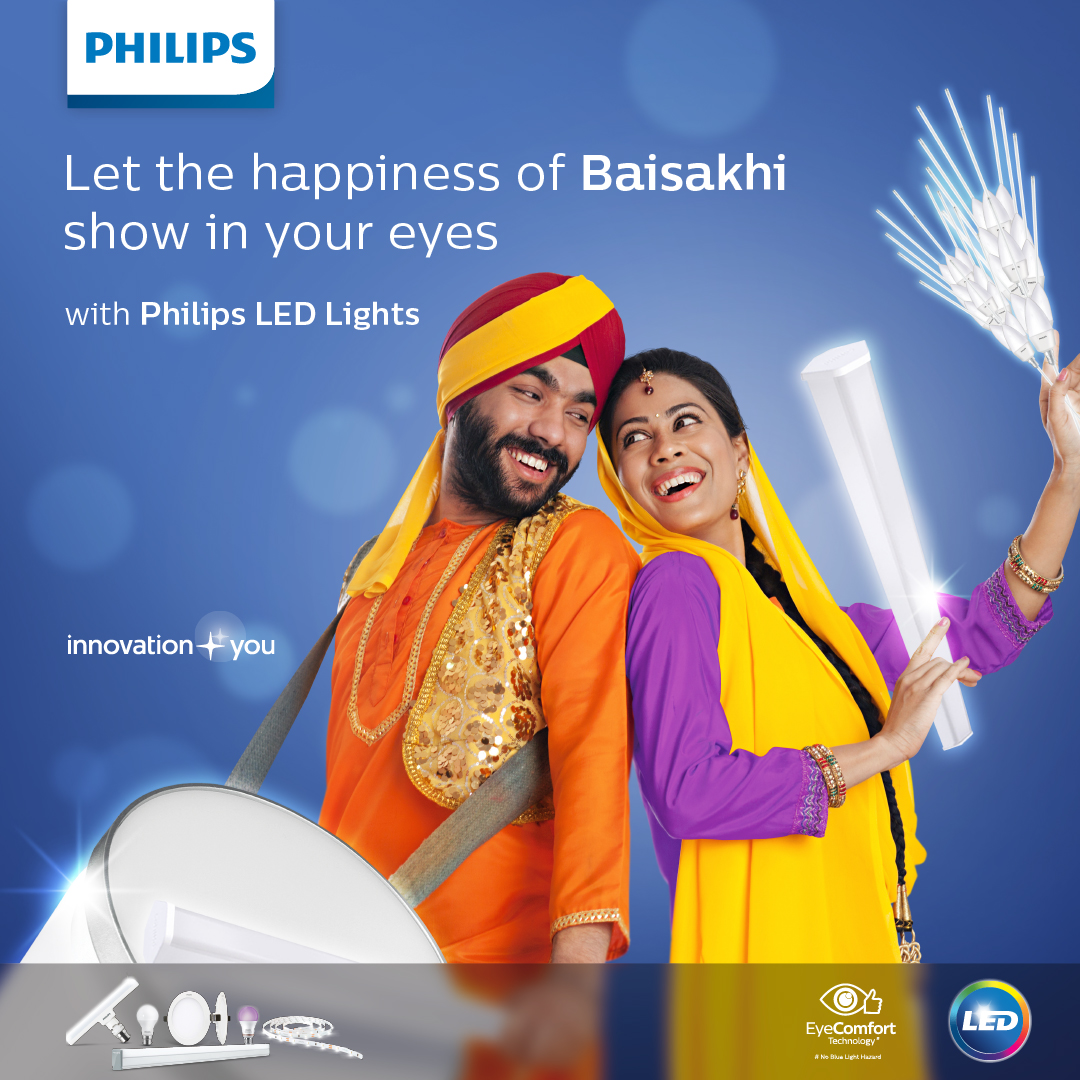 Hope this season brings endless joy and prosperity your way. Philipslighting wishes all of you a HappyBaisakhi https t