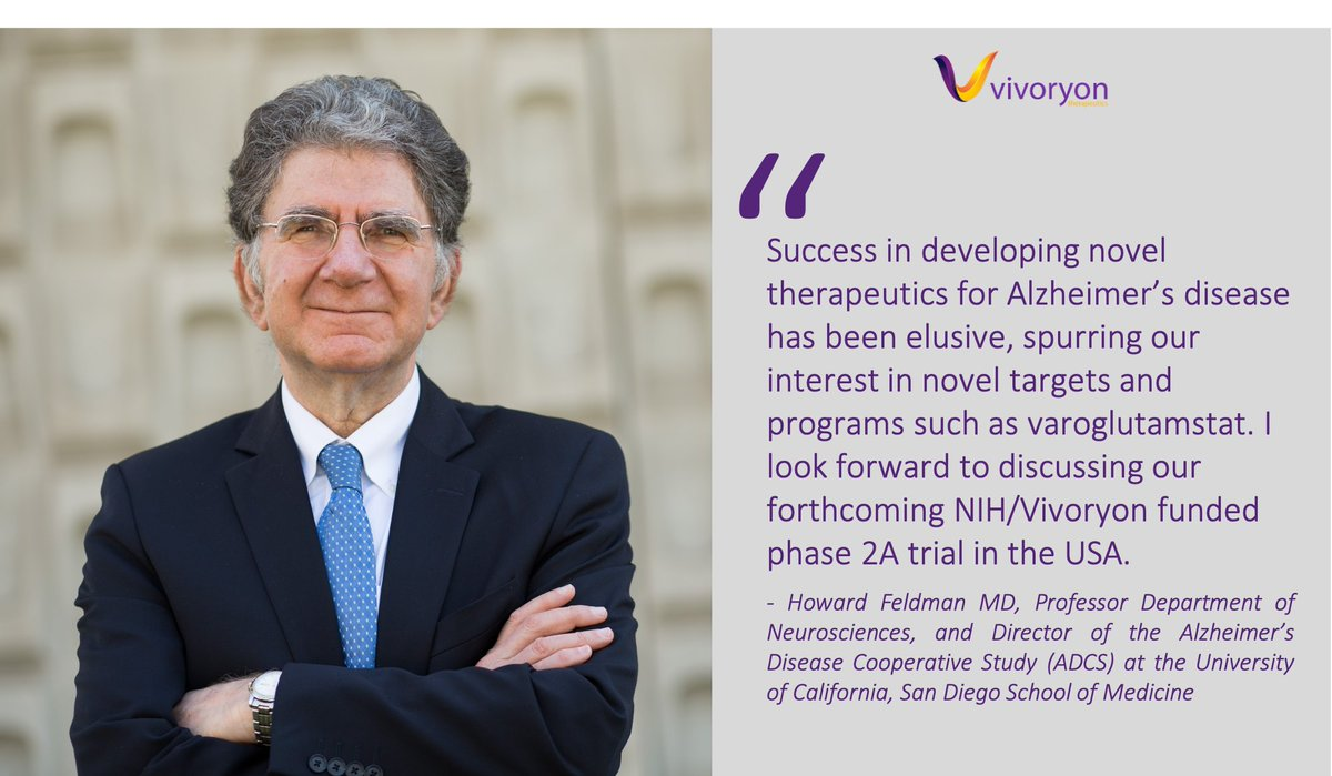 Join the virtual #AlzheimersDisease R&D Day hosted by our client, @VivoryonNV, tomorrow, April 15, 2021 at 5:00 -7:00 pm CET / 11.00 am – 1:00 pm ET / 8:00 – 10:00 am PDT. Prominent #KOLs will discuss novel approaches in the clinic: https://t.co/LQFxhobPHg