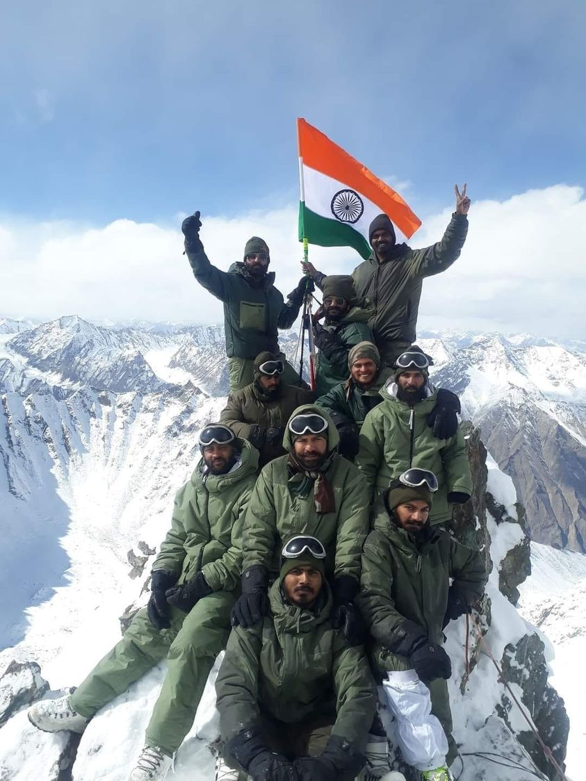 37 yrs of Operation Meghdoot✌️  On this day in 1984, India unfurled the Tricolor at world's highest & toughest battlefield.  Since then, the #IndianArmy continues to stand guard at 'Frozen Frontier' with tenacity and resolve against all odds.  #JaiHind 🇮🇳 @ActorMadhavan