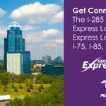 Image for the Tweet beginning: The I-285 Top End Express