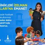 Image for the Tweet beginning: İzmir'de okul öncesi yavrularımızın eğitimi