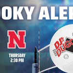 Hey Volleyball Fans! Make your plans NOW to watch this week's NCAA Volleyball Tournament action at DJ's!  -Watch Creighton at 2:30pm on Wednesday  -Watch Nebraska at 2:30pm on Thursday