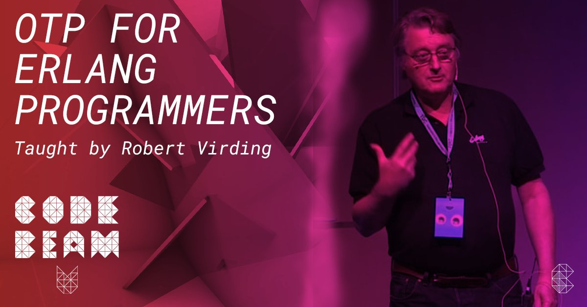 The #OTP training with @rvirding covers the main principles, including process design patterns, supervisors, applications and release handling. It will give the participants the ability to develop and architect #Erlang systems - get your combo ticket: https://t.co/Zkcy1jeind https://t.co/IxZofm8R0V
