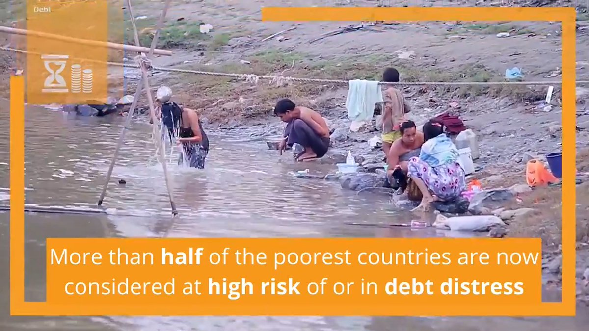 Even before #COVID19, many low- and middle-income countries were on the verge of debt distress. How do we give them more space to grow? Find out from the latest #Fin4Dev report: https://t.co/mecJTrqpBt #FinancingOurFuture https://t.co/fr6zbFwHOQ