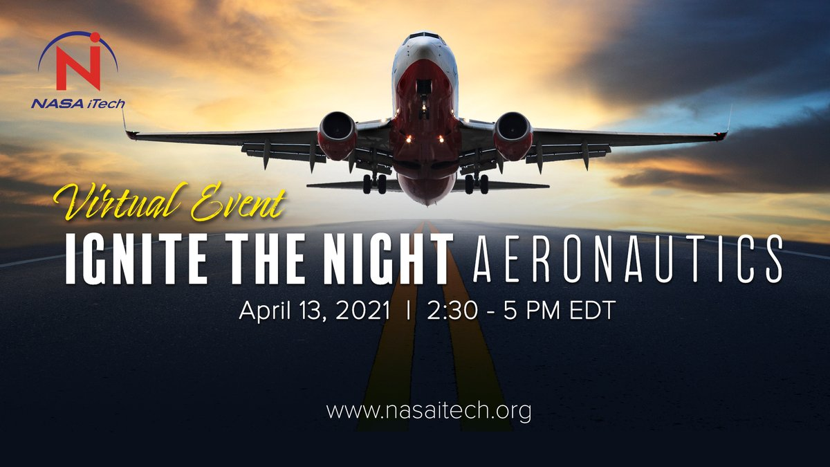 Are you free today, April 13 from 2:30-5 p.m. ET?  Join us for Ignite the Night Aeronautics ✈️  – a virtual pitch competition showcasing innovations from 10 emerging aeronautics #entrepreneurs across the U.S.  ℹ️Here's how to watch: https://t.co/KmBHvS3zTM https://t.co/txWEQ5Xakw