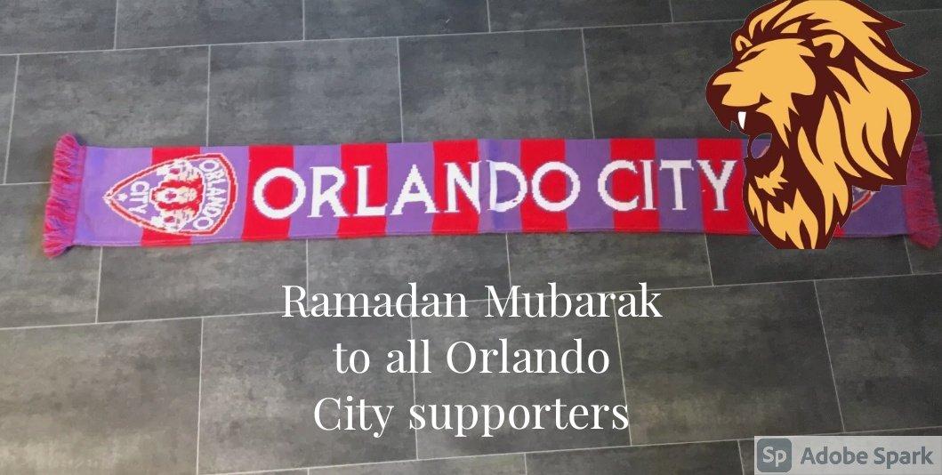 #RamadanMubarak to all of #OCTwitter   #OrlandoCity #VamosOrlando
