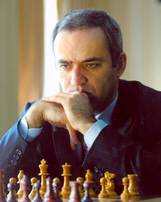 Happy 58th Birthday to Garry Kasparov, arguably the greatest chess player of all time!