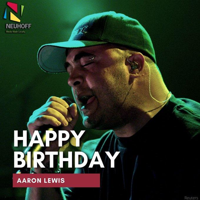 Happy birthday Aaron Lewis of Staind!  Catch their livestream events next month --