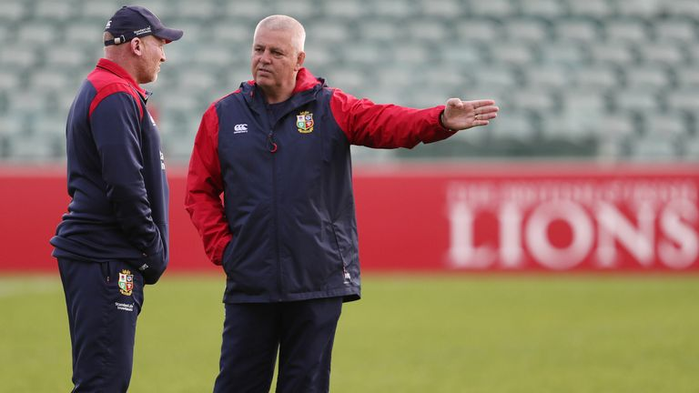 test Twitter Media - Gregor Townsend: Attack Steve Tandy: Defence Robin McBryde: Forwards Neil Jenkins: Kicking  We take a closer look at the four @LionsOfficial coaches named by Warren Gatland for this summer's tour to South Africa to take on the world champion @Springboks: https://t.co/i1ntdtZSw2 https://t.co/JVaYnEalsr