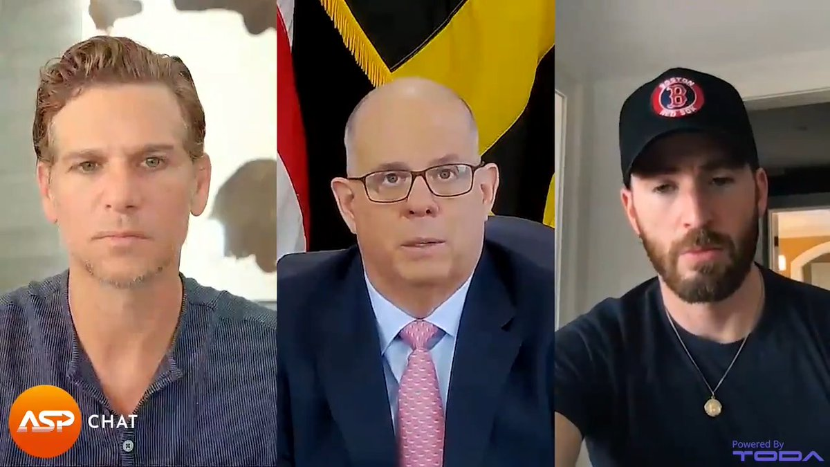 """WATCH NOW: """"One is raising awareness, two is getting more support for the Asian community, three is increasing controls & prosecutions of existing laws."""" Hear @GovLarryHogan on protecting minorities against hate crimes in this special @Newsweek #ASPChat 👉 https://t.co/ehoyYbbVcO https://t.co/xcNTkuQmFB"""