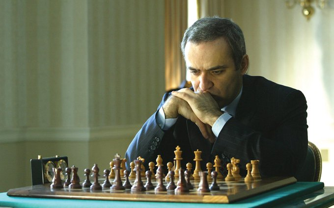 Happy birthday to the 13th world chess champion, the iconic Garry Kasparov.
