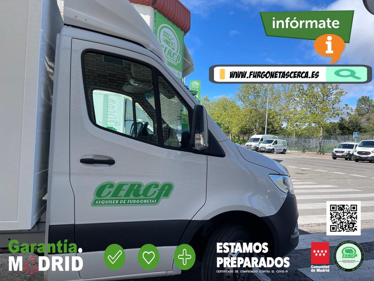 Necesitas alquilar una #furgoneta hoy #Martes? ℹ️📲91 641 18 48 / 646 45 28 71 . . . #Cerca #Alcorcón #GarantíaMadrid #martes13 #13thapril2021 #13Abril #tuesdayvibe #TinyVoiceTalks #EarlyBiz #13aprile #MadridResiste #tuesdaymotivations #FelizMartes