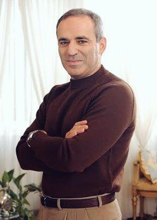 Garry Kasparov! Happy birthday. Legend. This man is a legend.