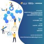 Image for the Tweet beginning: Su empresa y proyectos tendrán