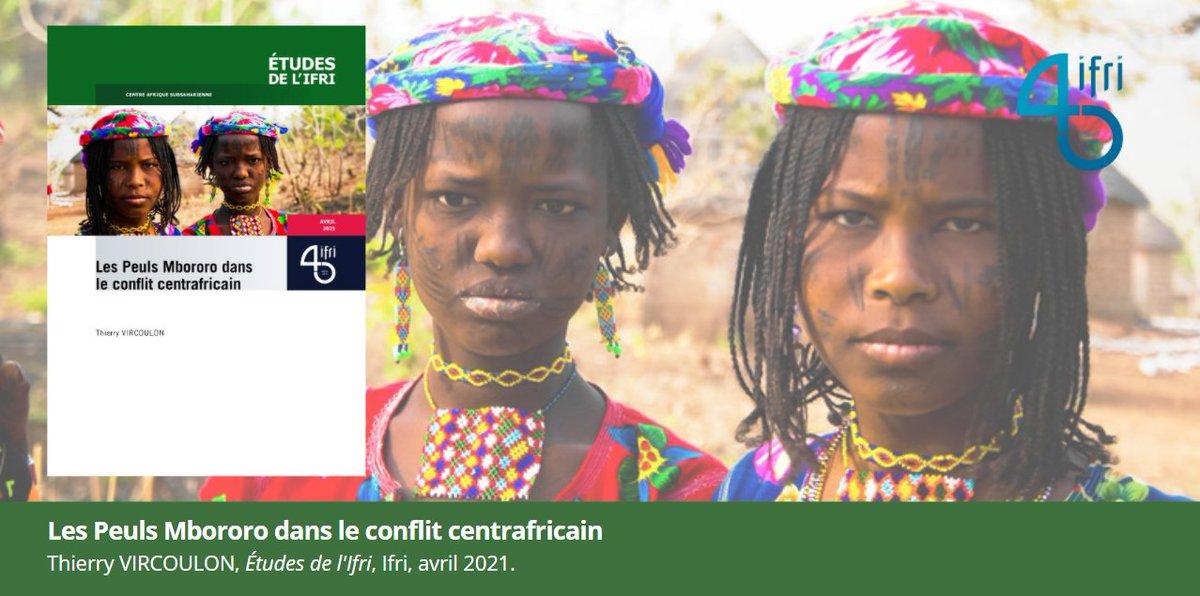🆕Face aux évolutions sociales et environnementales, les #Peuls #Mbororo, une population minoritaire en #Centrafrique 🇨🇫, jouent un rôle spécial dans le #conflit qui fait rage. @TVircoulon, chercheur associé de l'@IFRI_ leur consacre cette nouvelle étude.👇🏾https://t.co/atscJEfg5I https://t.co/MqMKX6LVxV