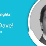 Image for the Tweet beginning: Meet Dave, Risk Manager.  We've introduced