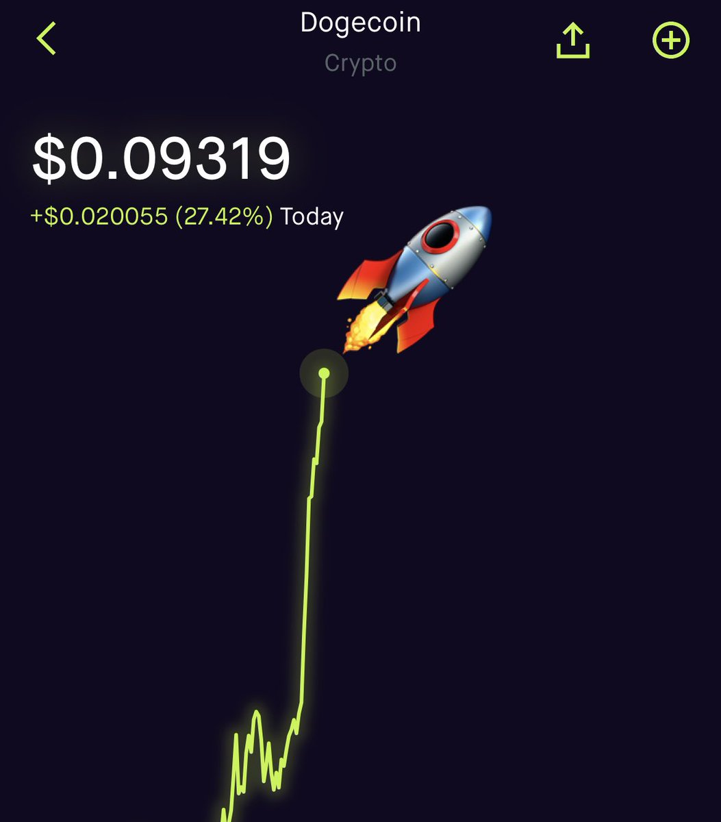We have liftoff! #Dogecoins #doge $doge #DogecoinToTheMoon #dogetothemoon https://t.co/UvVtACEhzR