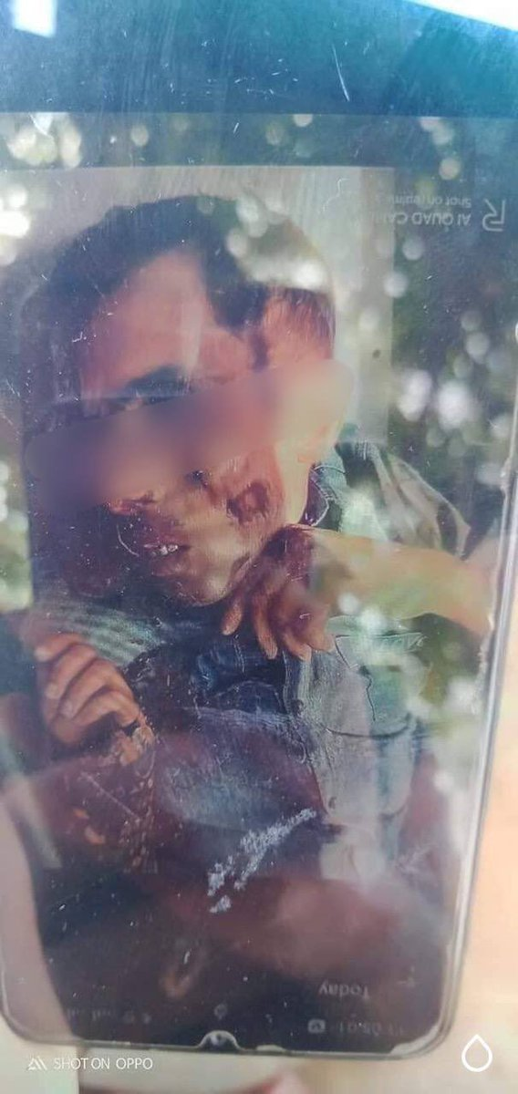 Tw // death In Tamu tsp, a couple who were just passerby milk vendor was shot dead by terrorists at around 11:00 am. They also raided almost every wards and threatened civilians by opening gunfires. A witness said 3 ppl were also abducted. #WhatsHappeningInMyanmar #Apr13Coup @CNN https://t.co/ogRPlctDpI