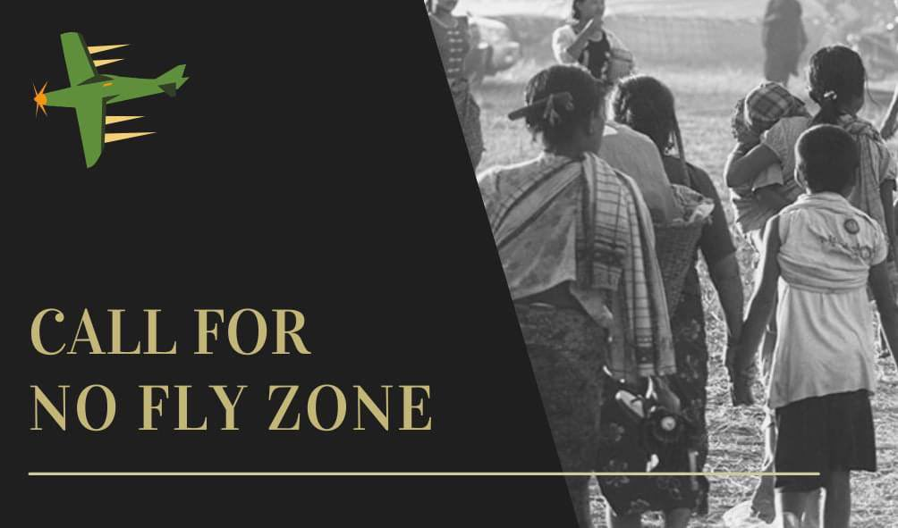 Myanmar Military's airstrikes are attacking on the villages, 20+ deaths in Karen, Kachin State, making thousands of ppl to abandon their homes, destroying properties. Many  has injured. Dear @UN , We'd like to request to implement #NoFlyZoneInMyanmar. #WhatsHappeningInMyanmar https://t.co/M09zuuGZZL