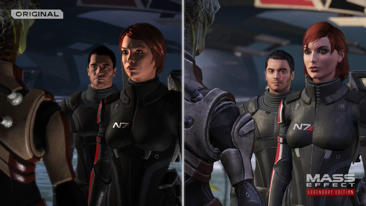 Video: EA Reveals Side-By-Side Comparison For The Mass Effect Remaster Trilogy  #Xbox #XboxOne #XboxSeriesX #XboxSeriesS #MassEffect #MassEffectLegendaryEdition