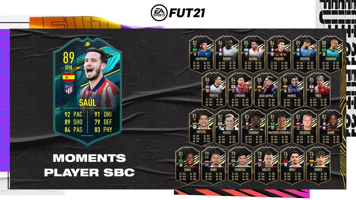 É melhor chamá-lo de 🧪⚽️  O novo DME Moments já está disponível no #FUT!  #FIFA21