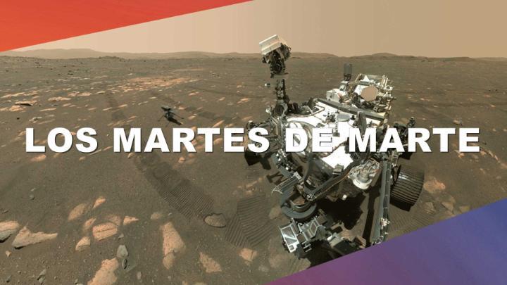 ¡Nuevo episodio de Los martes de Marte! Hoy te ofrecemos un detallado resumen del despliegue y las pruebas que llevó a cabo el #MarsHelicopter Ingenuity del sol 30 al sol 48. También hablamos sobre el clima meteorológico marciano. #JuntosPerseveramos  📺 https://t.co/WmxSerR3Uc https://t.co/Rg29ByPt84