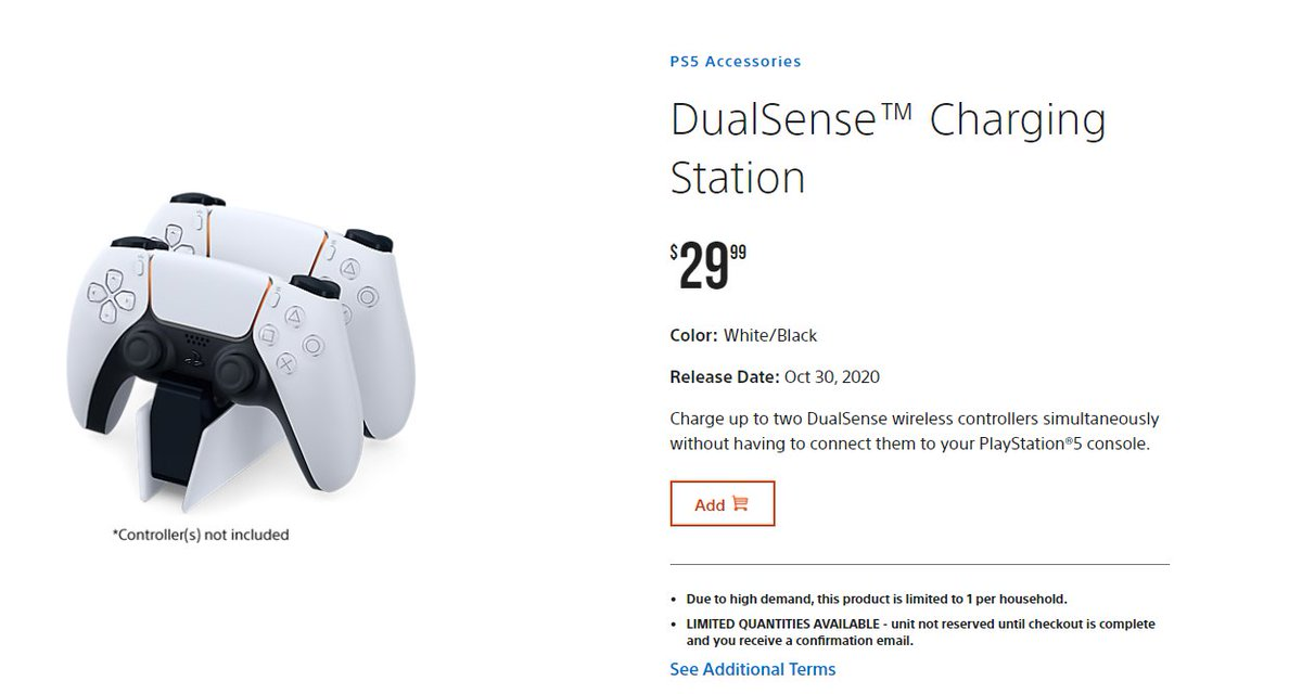 Wario64 On Twitter Dualsense Charging Station Available On Ps Direct Https T Co I8fehvqhlq