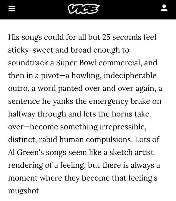 Today is Al Green s birthday happy birthday Al Green
