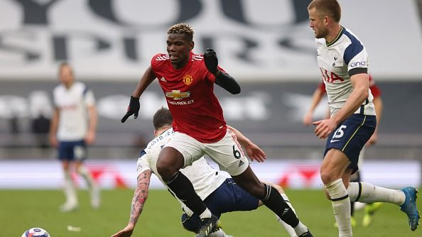 Paul Pogba Earns Double Team Of The Week Recognition [@NewsUnitedStand] #mufc   - Pogba named in two Team of the Week's - Deserved accolade following another excellent performance against Spurs  Details ➡️ https://t.co/ohBhzg6iEP https://t.co/CXKp81Fbzd