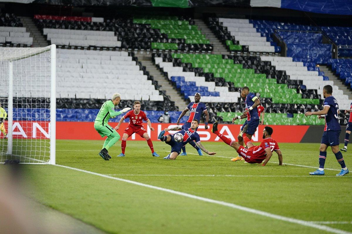 الباريسي يقصي البايرن من دور الـ8 ويتأهل الى نصف نهائي دوري الأبطال