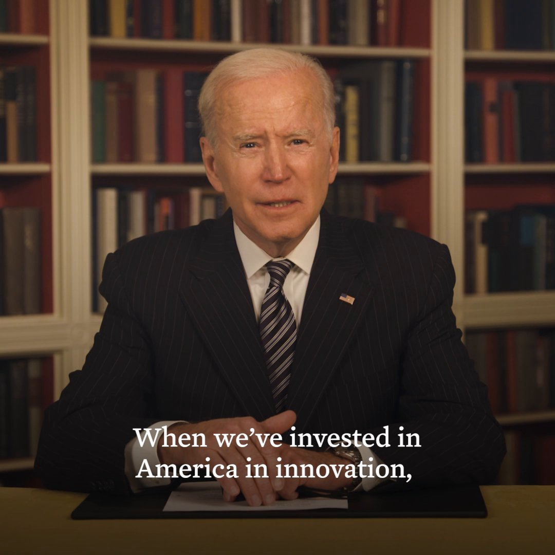 The American Jobs Plan is a once-in-a-generation investment in our infrastructure and future. Watch as President Biden sits down to share his thoughts about the plan: https://t.co/QuM18fnXaX