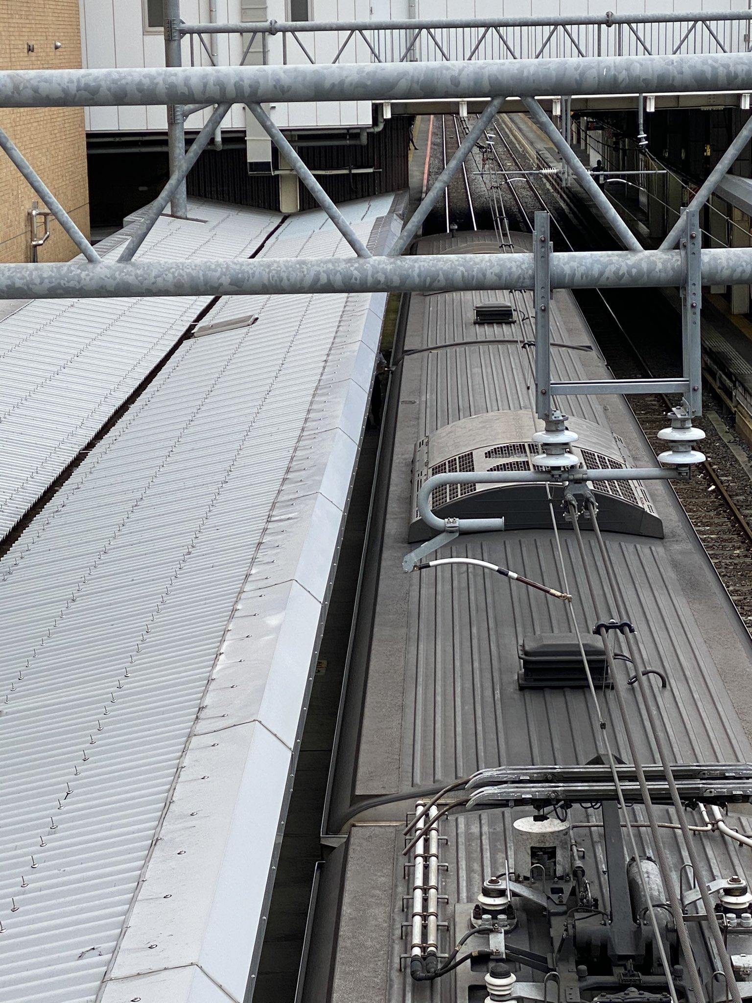 高崎線の上尾駅で人身事故が起きた当該列車の画像