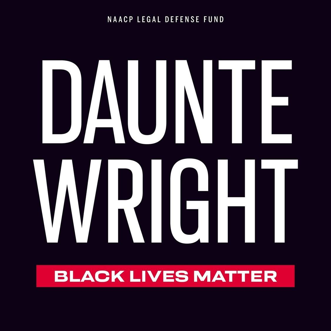 There are no words that haven't already been said. We need change, accountability and justice. #JusticeforDaunteWright