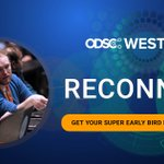 Image for the Tweet beginning: Mark your calendar! #ODSCWest is