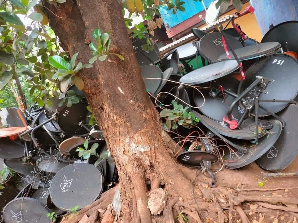 Myanmar Junta Bans Satellite Dishes in Effort to Restrict Anti-Regime News #savemyanmar #whatishappeninginmyanmar https://t.co/zIGWZOjB0x