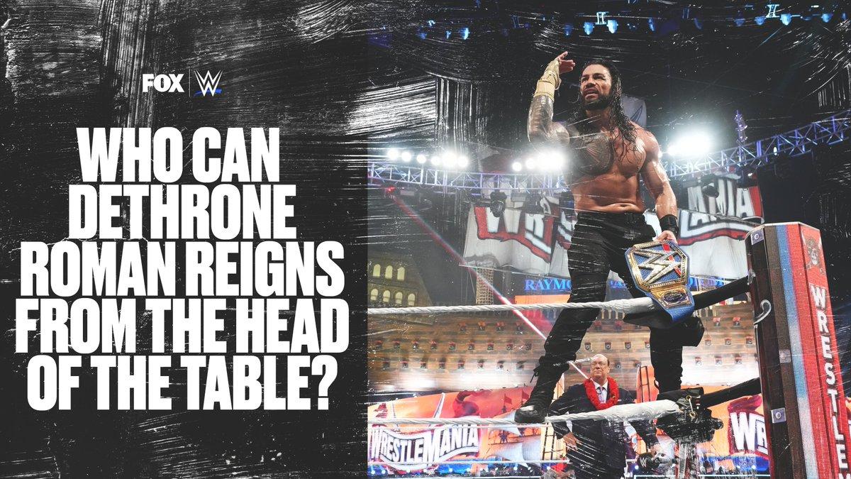 The @WWE Universal Champion @WWERomanReigns w/ @HeymanHustle has been unstoppable since SummerSlam! https://t.co/hz7ib3o8ok