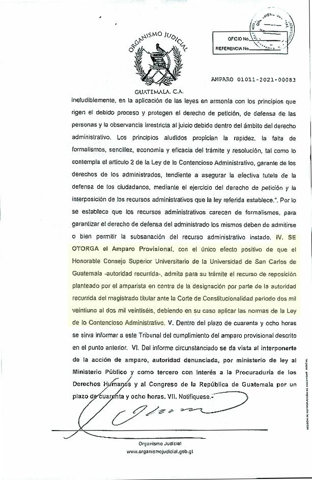 test Twitter Media - El Organismo Legislativo brindó información sobre el amparo provisional otorgado por la Sala Primera del Tribunal de lo Contencioso Administrativo. https://t.co/d4R9iy9L2b