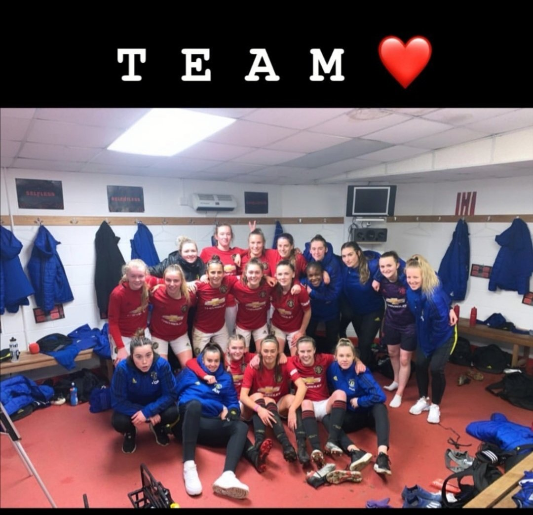 The last game I watched for the kids was the derby.   Same again kids. Love you all... Miss watching you.. Doing us proud #muwomen #mufc #allredallequal https://t.co/XVzH4It4jV https://t.co/chYpbvkwhk